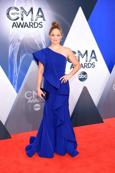 Erika Christensen One Shoulder Dress
