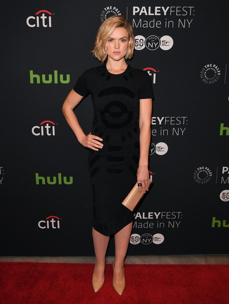 Erin Richards Patent Leather Clutch
