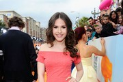 Erin Sanders Off-the-Shoulder Dress