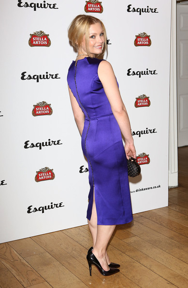 More Pics of Myanna Buring Bobby Pinned Updo (1 of 4) - Myanna Buring Lookbook - StyleBistro