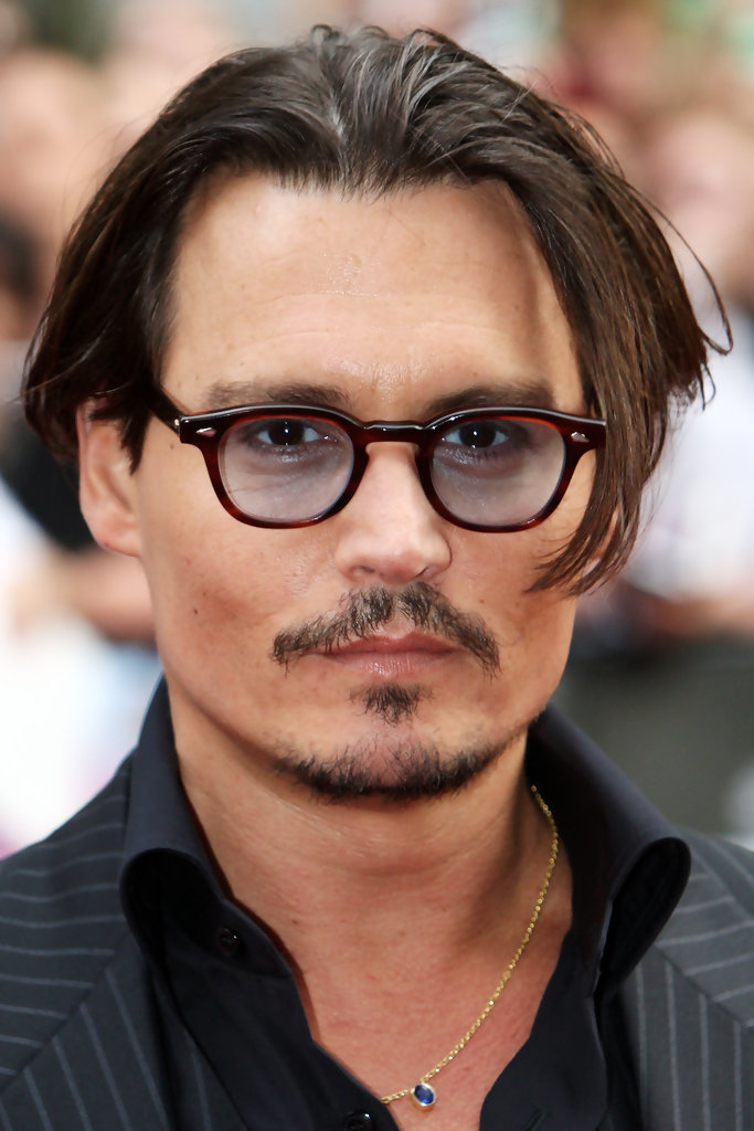 johnny depp hair style more pics of johnny depp cut 17 of 32 3101