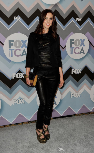 Eva Amurri Martino Leather Pants