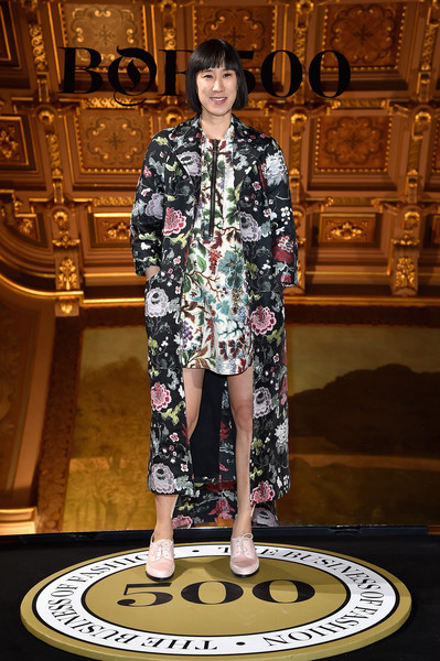 Eva Chen Printed Coat