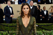 Eva Longoria Beaded Dress
