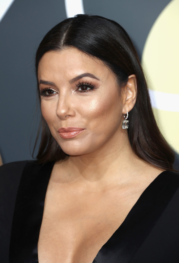 Eva Longoria Long Straight Cut Eva Longoria Looks