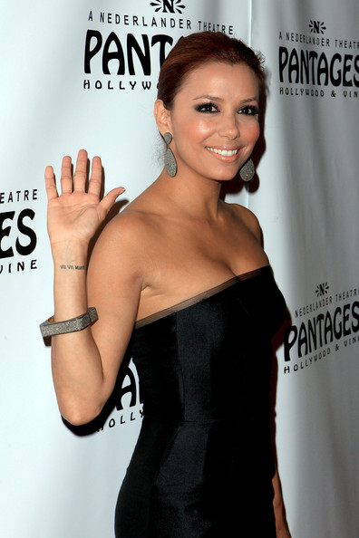 Eva Longoria Body Art