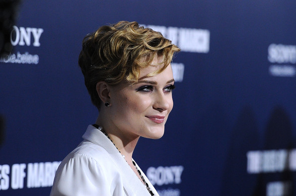 Evan Rachel Wood Short Wavy Cut