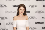 Eve Hewson Off-the-Shoulder Dress