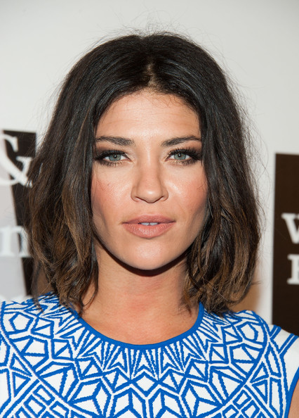 More Pics of Jessica Szohr Nude Lipstick (1 of 8) - Jessica Szohr Lookbook - StyleBistro