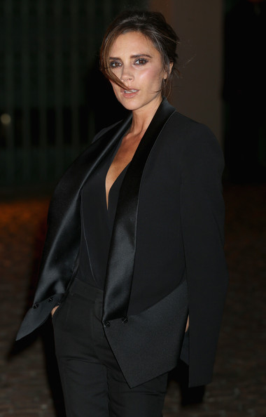 More Pics of Victoria Beckham Messy Updo (1 of 13) - Victoria Beckham Lookbook - StyleBistro