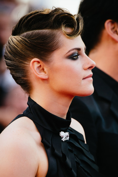 More Pics of Kristen Stewart Animal Tattoo (1 of 47) - Tattoos Lookbook - StyleBistro [hair,hairstyle,eyebrow,chin,beauty,ear,quiff,fashion,black hair,lip,kristen stewart,screening,everybody knows todos lo saben opening gala red carpet arrivals - the 71st annual cannes film festival,everybody knows todos lo saben and the opening gala during the 71st annual cannes film festival at on may 8,france,cannes]