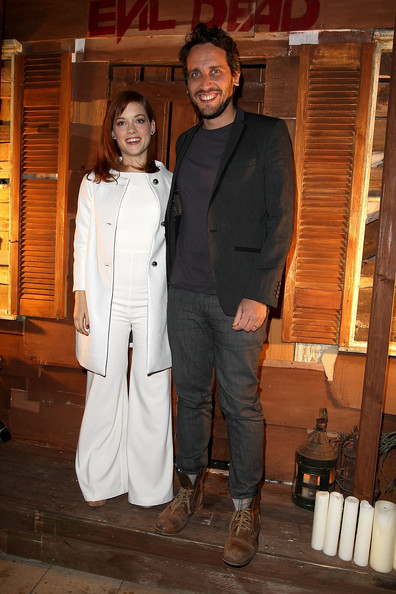 More Pics of Jane Levy Jumpsuit (1 of 8) - Jane Levy Lookbook - StyleBistro [evil dead - screening,suit,outerwear,event,fashion design,trench coat,formal wear,jane levy,fede alvarez,london,england,ritzy brixton,screening]
