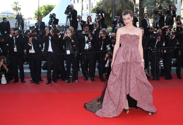 More Pics of Milla Jovovich Evening Dress (1 of 72) - Milla Jovovich Lookbook - StyleBistro