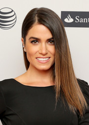 Nikki Reed finished off her look with a simple, sleek side sweep when she attended the 'In Your Eyes' premiere.