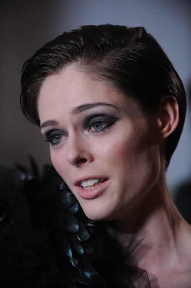 More Pics of Coco Rocha Short Side Part (1 of 10) - Short Hairstyles Lookbook - StyleBistro []