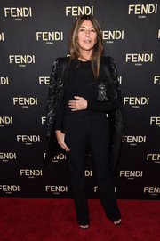 Nina Garcia opted for slacks instead of a dress when she attended the red carpet event.
