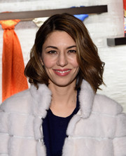 Sofia Coppola wore a lovely mid-length wavy 'do at the Fendi New York flagship store opening.