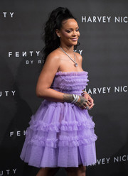 Rihanna stunned us with that Chopard diamond bracelet wrapped around her wrist at the Fenty Beauty launch.