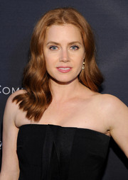 Amy Adams looked cute with her billowy waves at the Weinstein Company Oscar nominees dinner.