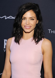 Jenna Dewan-Tatum looked fab with her messy-chic waves at the Weinstein Company Oscar nominees dinner.