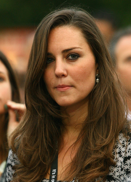 More Pics of Kate Middleton Sterling Dangle Earrings (1 of 6) - Kate Middleton Lookbook - StyleBistro