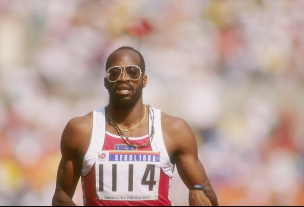 Edwin Moses at the 1988 Seoul Summer Olympics