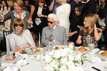 Diane Kruger Karl Lagerfeld The FIT Couture Council's Annual Luncheon Honoring Karl Lagerfeld