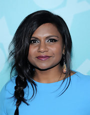 Mindy Kaling nailed the strategically messy braid at the FOX Programming Presentation in NYC.