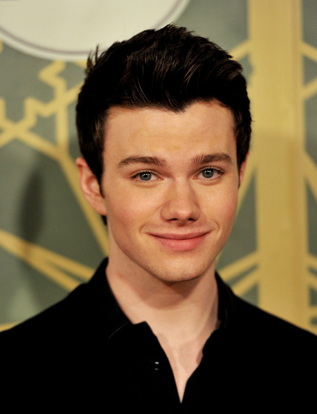 More Pics of Chris Colfer Spiked Hair (1 of 2) - Chris Colfer Lookbook - StyleBistro