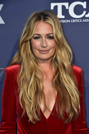 Cat Deeley attended the Fox Summer TCA 2018 All-Star Party wearing her signature long blonde waves.
