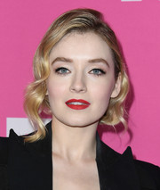 Sarah Bolger looked glam with her short wavy hairstyle at the FX Networks Starwalk event.
