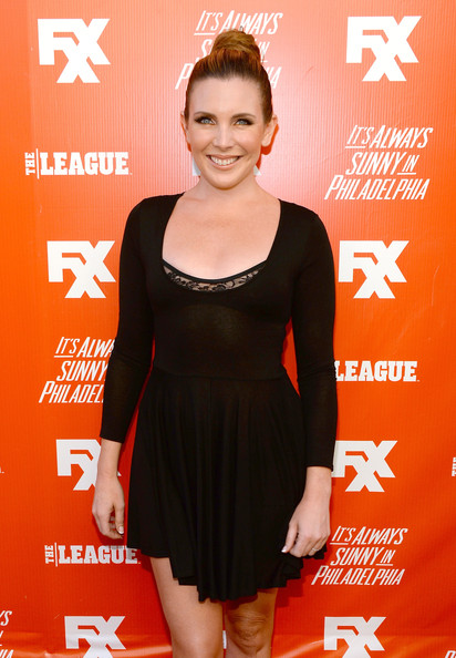 June Diane Raphael attended the FXX Network launch wearing an LBD that looked like a figure skating costume.