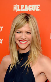 Kaitlin Olson looked very trendy at the FXX Network launch with her choppy layers.