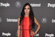 Famke Janssen Maxi Dress