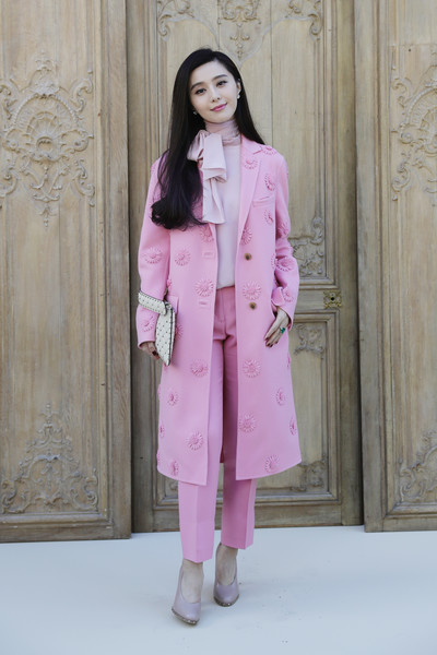 Fan Bingbing Wool Coat
