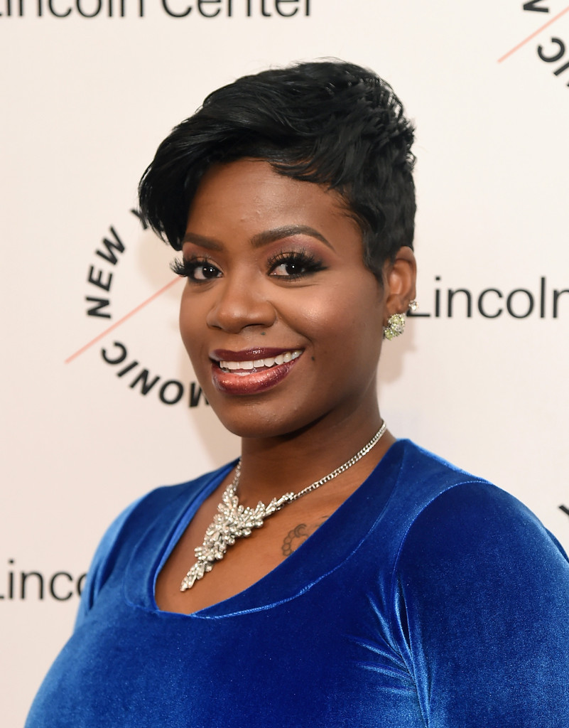 Fantasia Hairstyles short layered hairstyles Fantasia Barrino Attended The Sinatra Voice For A Century Event Wearing Her Hair In A Stylish