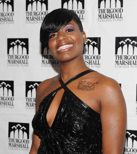 Fantasia Barrino Lettering Tattoo