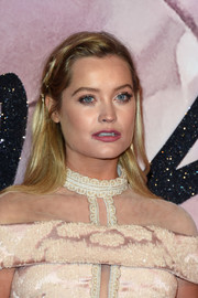 Laura Whitmore looked youthful and pretty wearing this partially braided 'do at the Fashion Awards 2016.