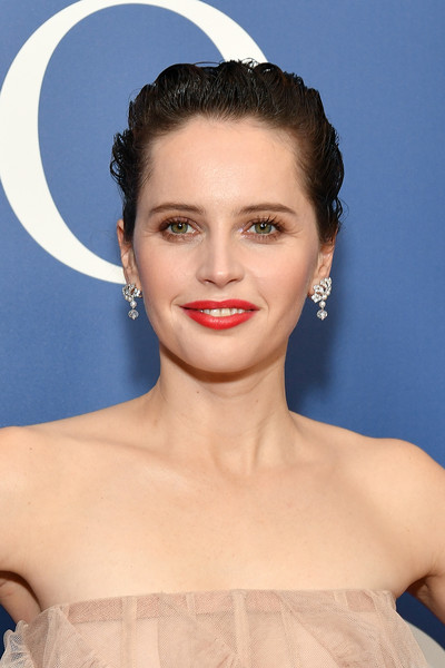 Felicity Jones Red Lipstick