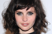 Felicity Jones Smoky Eyes
