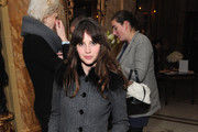 Felicity Jones Wool Coat