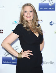 Barbara Schoeneberger wore her long wavy locks down at the 2011 Felix Burda Awards.
