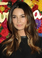Lily Aldridge chose a lovely natural-looking wavy 'do to showcase her gorgeous ombre locks.