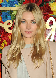Jessica Hart chose a more natural-looking wavy 'do for her look at the launch of L'Icona Highlighting.