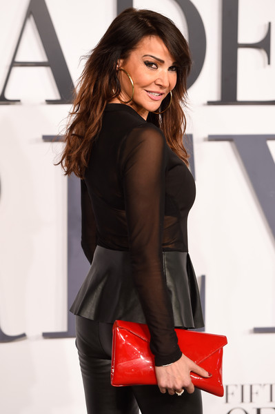 More Pics of Lizzie Cundy Long Wavy Cut with Bangs (1 of 3) - Lizzie Cundy Lookbook - StyleBistro