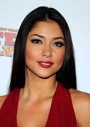 Arianny Celeste wore a fresh, cool red raspberry lipstick at the 2011 Fighters Only World Mixed Martial Arts Awards.