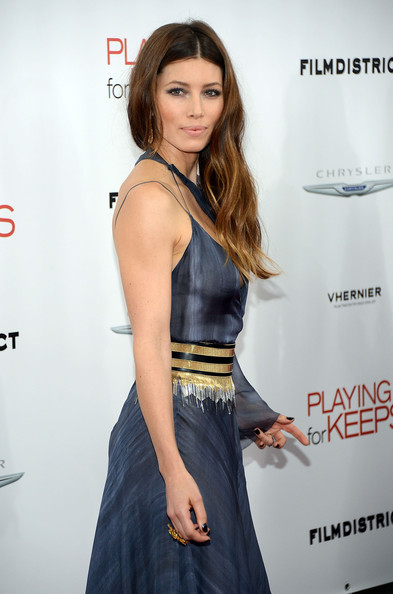 More Pics of Jessica Biel Evening Dress (1 of 23) - Jessica Biel Lookbook - StyleBistro