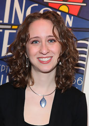 Sara Wolkowitz wore soft ringlet curls at the screening of 'Still On The Road.'