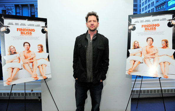 Jamie Kennedy showcased his practical side by donning a warm, multi-pocketed jacket at the New York screening of 'Finding Bliss.'
