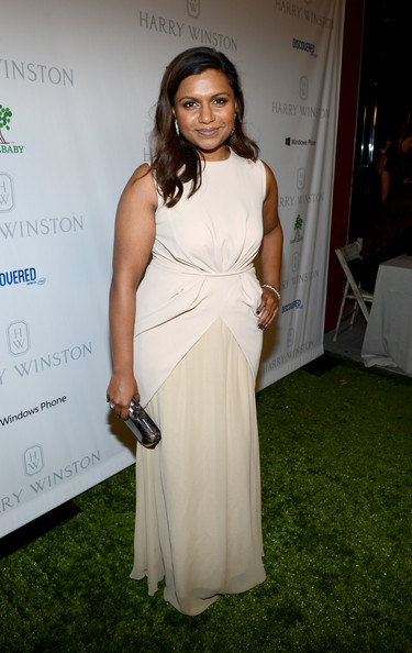 More Pics of Mindy Kaling Evening Dress (1 of 6) - Mindy Kaling Lookbook - StyleBistro